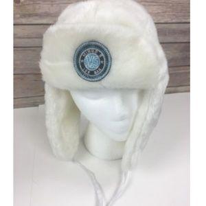 Minus 5 Ice Bar Faux Fur Strap Winter Ear Flaps